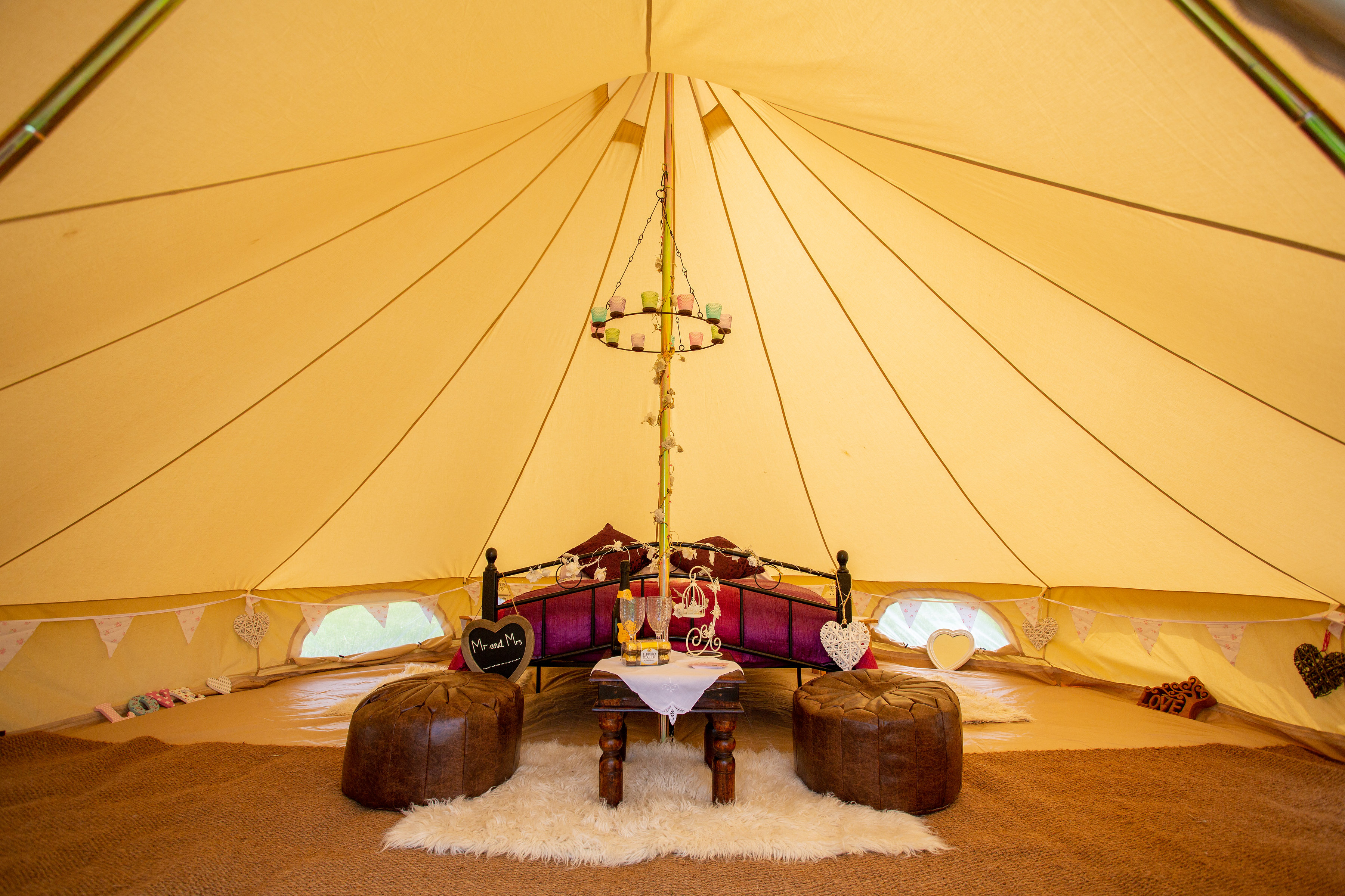 honeymoon tent